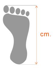 ayak ölçü tablosu